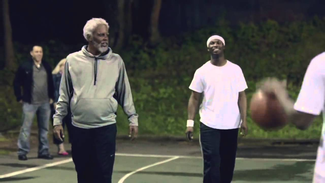 Image result for kyrie irving tv commercial old man