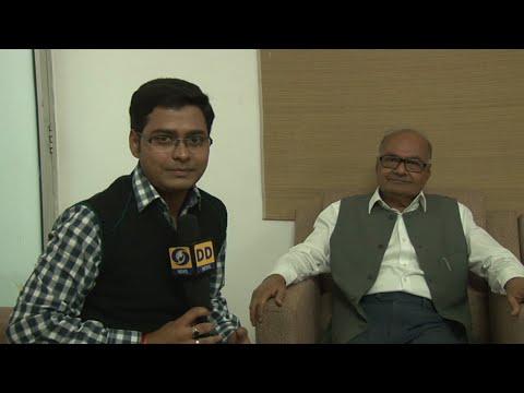 DD News   Aditya Shrivastava interview with Jayant Maliya on mp Supplimentry Budget