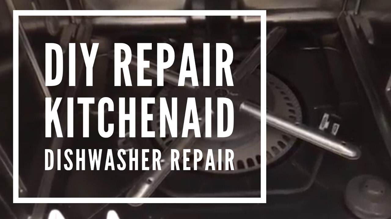 Superbe KitchenAid Dishwasher Repair  Not Cleaning Properly (clean Out Filter)