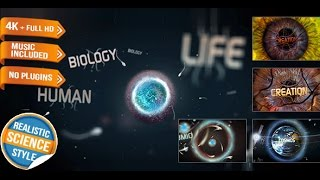 Science Physics Biology Opener | After Effects template