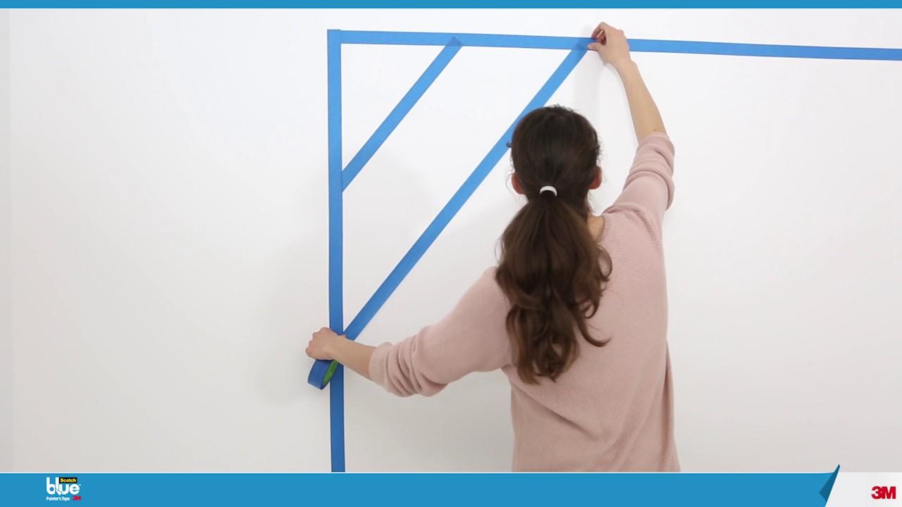 R aliser une peinture d co dans une chambre youtube - Idee peinture chambre ...