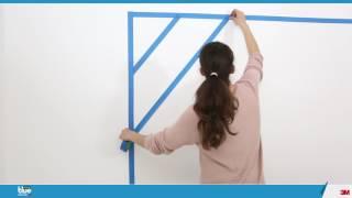 Réaliser une peinture déco dans une chambre