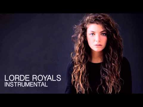 Royals - Lorde Instrumental (no vocals at all, in time)