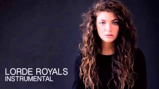 Royals Lorde Instrumental No Vocals At All In Time