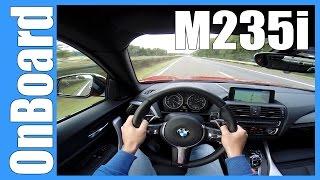 POV BMW M235i TOP SPEED & ACCELERATION on AUTOBAHN Drive Test Sound