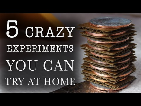 5 Experiments You Can Try At Home (Part 1)