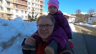 Поездка семьей на Роза хутор