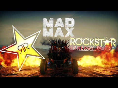 MAD MAX Thirstcutter car (Rockstar Energy drink) DLC | Stunting Gameplay 1080p