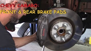 Chevy Camaro: Brembo Brakes Front & Rear Replacement