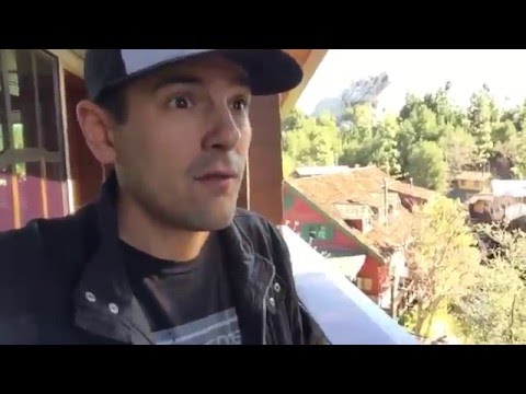 Jumping on Johnny Depp's bed - Disney's Grand Californian