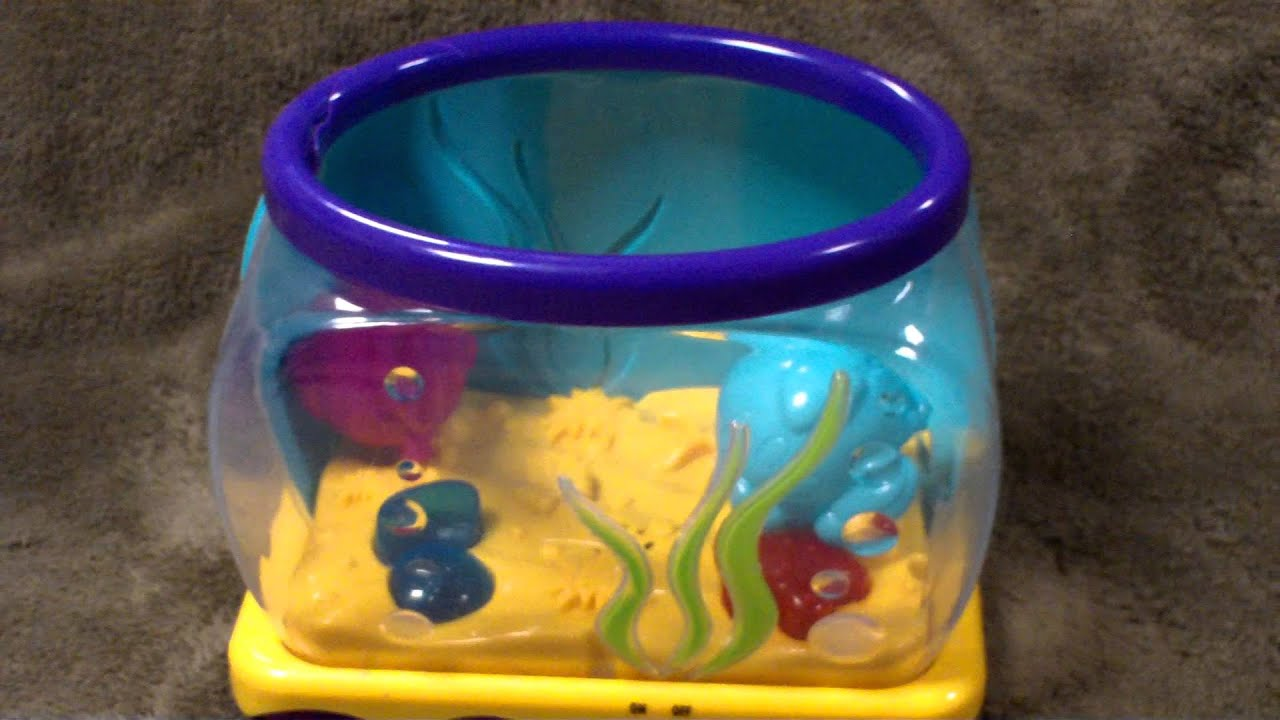 Favorite toys drop in fish aquarium youtube for Toy fish tank