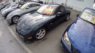 Cars For Sale in Japan Part 1<