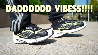 2018 ADIDAS TEMPER RUN REVIEW // BLUEPRINT OF THE YEEZY 500??