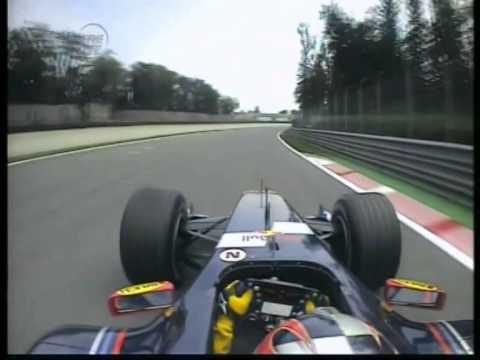 F1 Monza 05 FP1 - Vitantonio Liuzzi Onboard