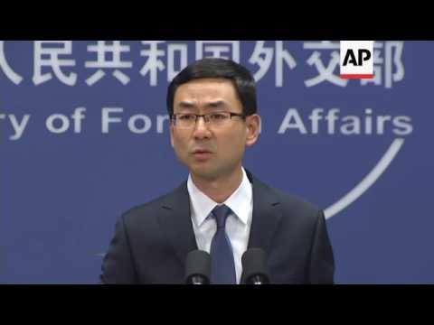 China on Trump trade posture