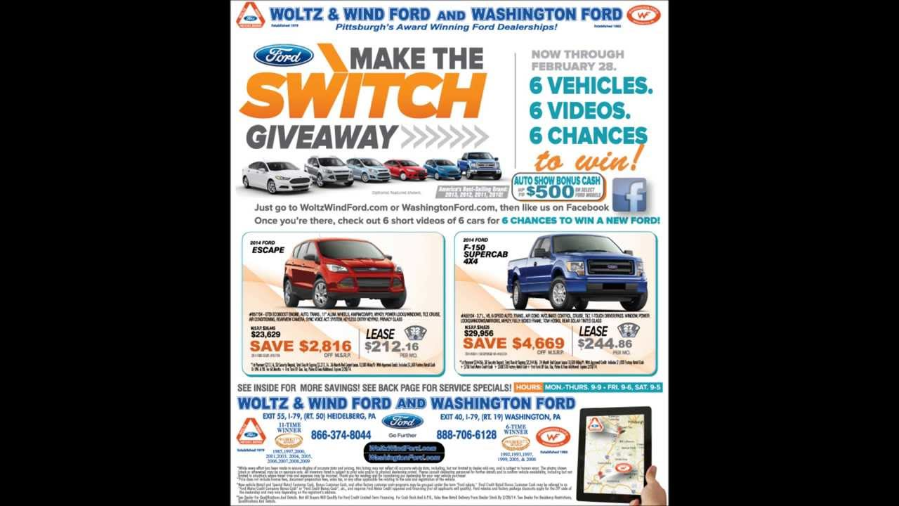 Woltz & Wind Ford Make the Switch Giveaway! | woltz and wind ford