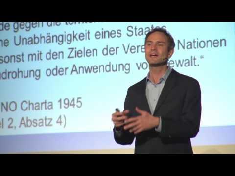 Das Spannungsfeld von Energiepolitik und Frieden - Dr. Daniele Ganser im Weltspiegel Cottbus