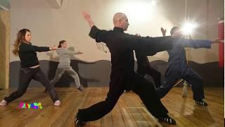 Китайское искусство ушу. Уроки хорошего самочувствия. Видео 2. Элементы суставной гимнастики.
