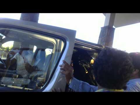 Bipasha Basu leaving Mauritius