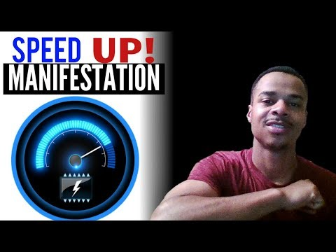 How To SPEED UP MANIFESTATION TIME! | LAW OF ATTRACTION