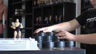 Unboxing: Legends Andre the Giant + Deluxe Stands