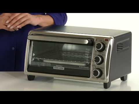 Black And Decker Countertop Oven Not Working : Black + Decker 4-Slice Toaster Oven - YouTube