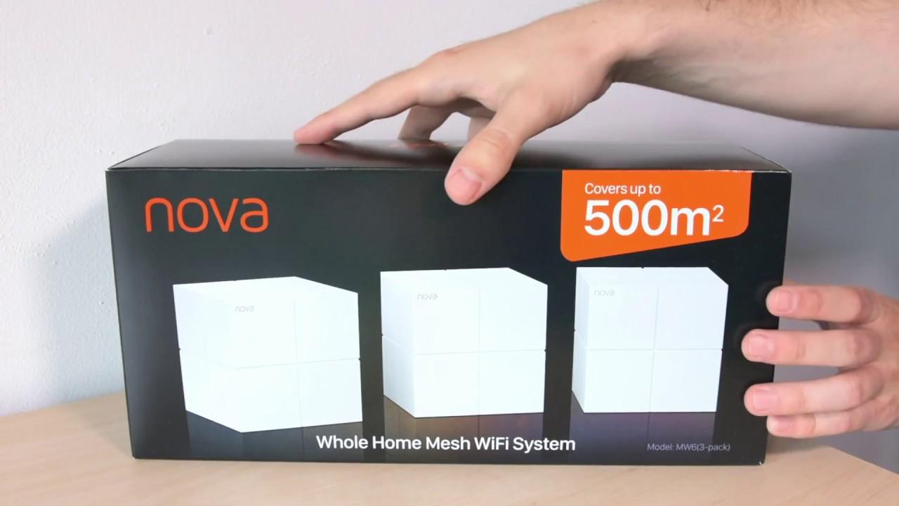 Tenda Nova MW6 Mesh Wi-Fi System - quick look - YouTube