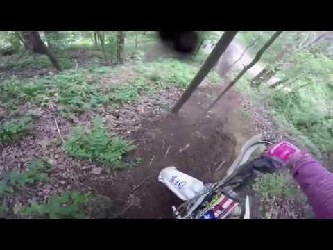 2015-05-24 Crossroads Rd1 Staunton: Matt B YZ250 GoPro 720p 60fps MX GP XC  Harescramble Race