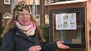 """Guerrilla-actie laat BIJbliotheek verschijnen aan Koeriersterweg: """"Hopelijk volgen meer wijken"""""""