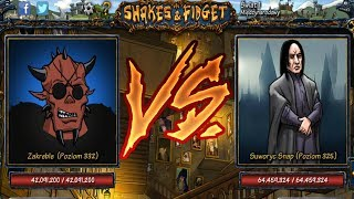 ZAKREBLE VS SNAPE! - SHAKES AND FIDGET #28