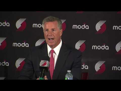 Portland Trail Blazers General Manager Neil Olshey shares expectations for the 2016-17 season
