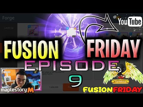 Maplestory M Weekly Emblem Fusions- FusionFriday Episode 9