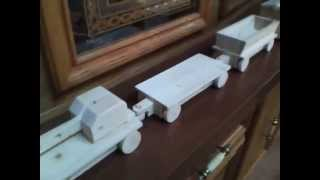 Wood Train Set 2x4 Contest Entry