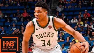 Milwaukee Bucks vs Orlando Magic Full Game Highlights | 01/19/2019 NBA Season