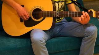 видеоурок игры на гитаре ДДТ это всё что останется после меня