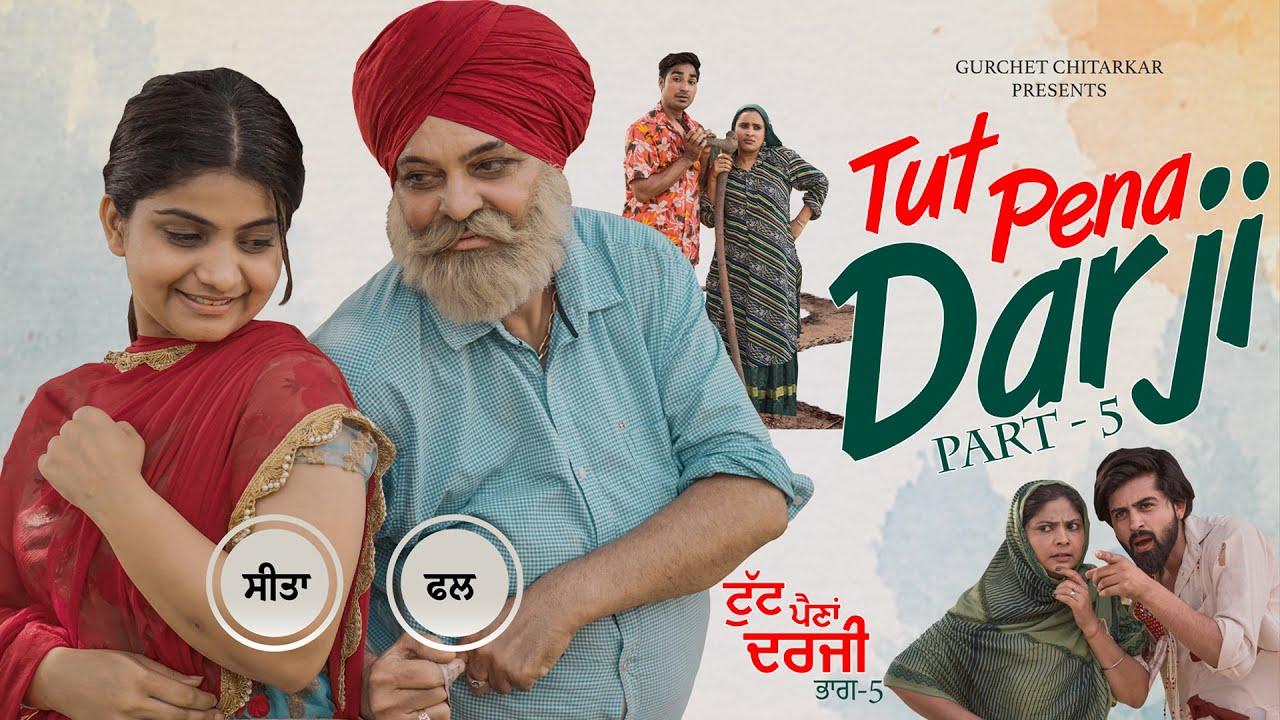 Download Tut Pena Darji 5   ਟੁੱਟ ਪੈਣਾਂ ਦਰਜੀ 5   Gurchet Chitarkar   Latest Punjabi Comedy 2021