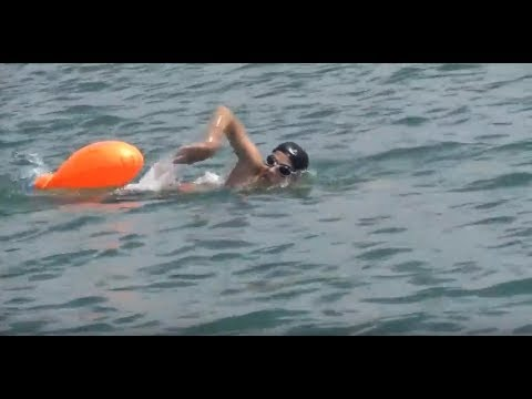 Alireza Jaff (shwan) - Open water swimmer : A beautiful day on 12th of June