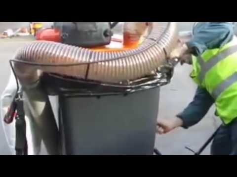 Litter Vacuum Street Sweeper Commercial Garbage Collector by Industrial Air Solutions, Inc.