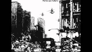 TERROR NUCLEAR - Menos que humano(Álbum completo) [ 2012]