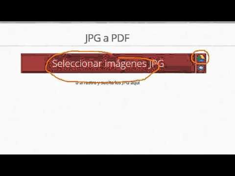 convertir jpg a pdf ilovepdf INTEF