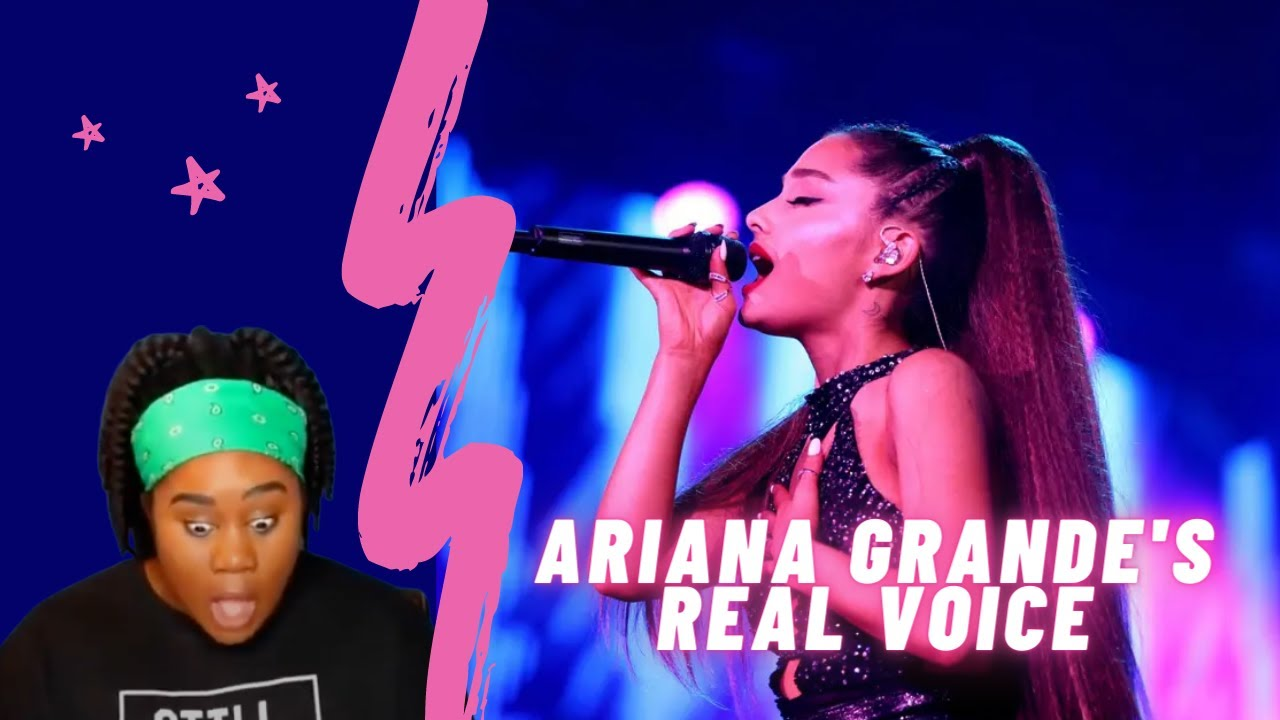 Download AJayII reacting to Ariana Grande's real voice (without auto-tune) (re-upload)
