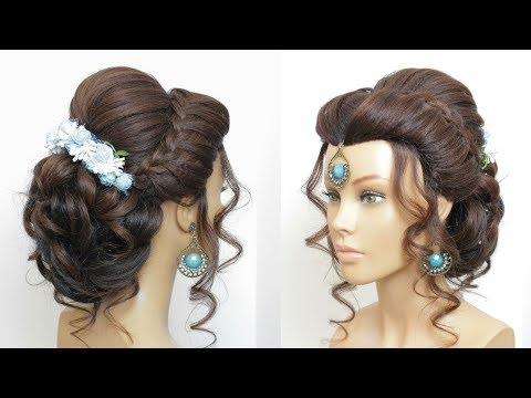 New Hairstyle Tutorial  For Long Hair. Bridal Updo Tutorial thumbnail