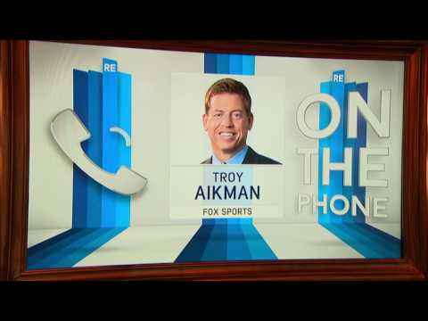 Troy Aikman of Fox Sports joins the RES 1/16/17