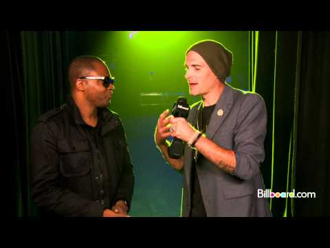 Taio Cruz Backstage Q&A @ Battle of the Bands 2012