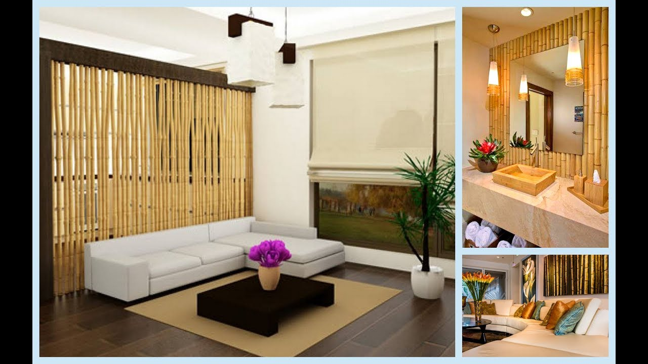 unbelievable bamboo interior decor ideas you will fall in love with rh youtube com bamboo interior design walls bamboo interior design images