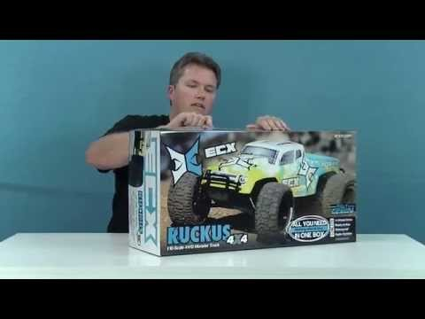 RC Addiction - NEW ECX Ruckus 4x4 unboxing and first look
