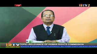23RD AUGUST  2019 DISCUSSION HOUR TOPIC  ' RELEVANCE OF HUMAN RIGHTS COMMISSION '