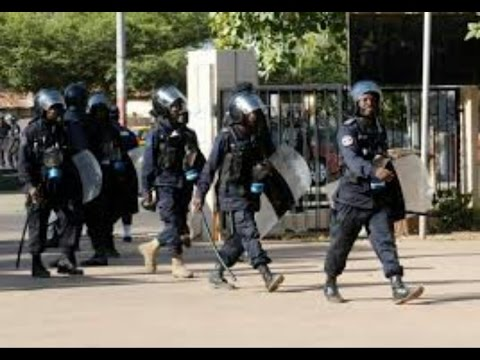 The Gambia Police On Security