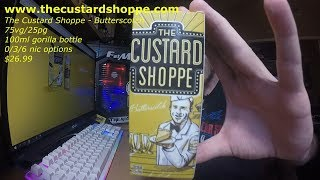 the Custard Shoppe Butterscotch Ejuice Review