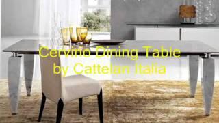 Designer Round Dining Tables, Designer Dining Room Sideboards